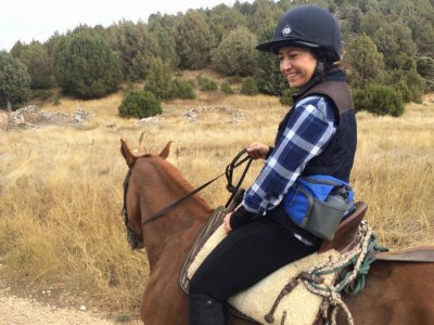 1h 30min horse riding trip in Simancas