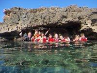 Excursiones de snorkel con monitor