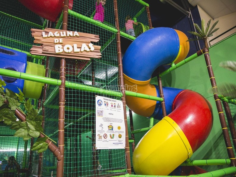 Different playrooms available