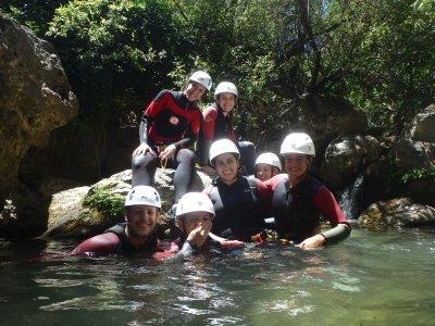 Descenso de barranco Río Verde 4 horas