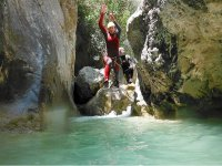 Canyoning sul fiume