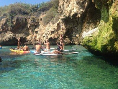 Campamento de deportes acuáticos en La Herradura