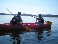 Tandem canoe rental in Madrid