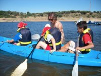 3-seater canoe in Madrid