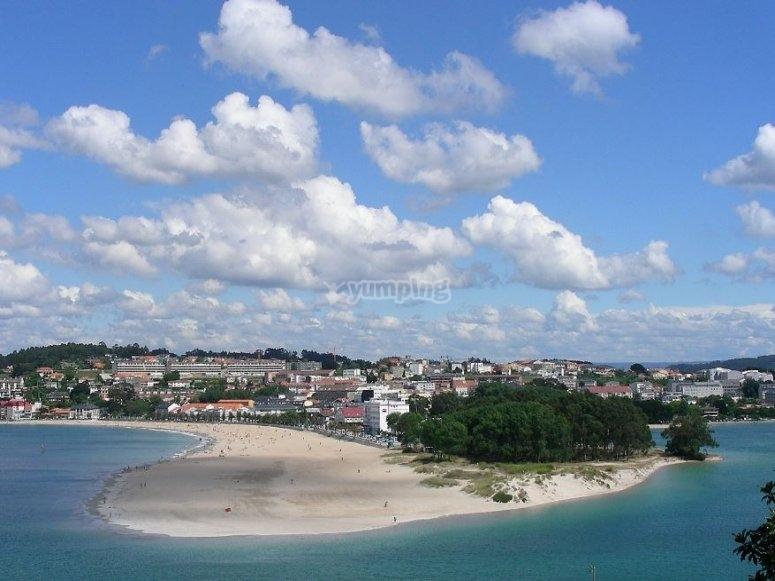 Playas en Oleiros