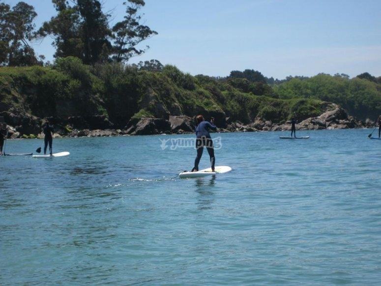 Paddle Surf A Coruña - Oleiros