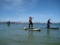 Paddle surf en Oleiros