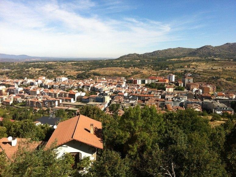 Vues de la ville de Bejar