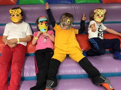 Parque infantil en Boadilla niños de 4 a 11 años
