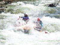 Rafting extremo en el río Torme