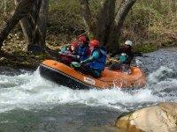 Adrenalina haciendo rafting en Gredos