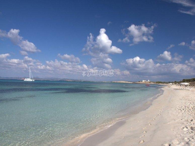 Isla de Formentera en Baleares