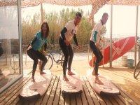Clase de surf en El Palmar de 1 día