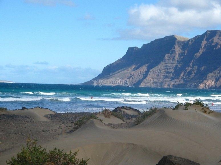 Costa sur de Lanzarote
