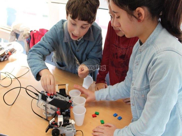 Programando robots