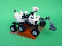 带有乐高的Rover用于Mars