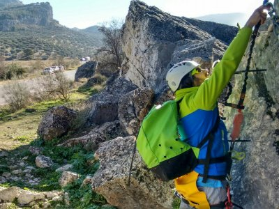 Ferrata con video nella Sierra de Gracia a Malaga