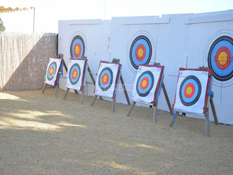 Sport come tiro con l'arco