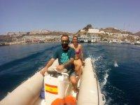 Navegando en embarcacion sin titulacion