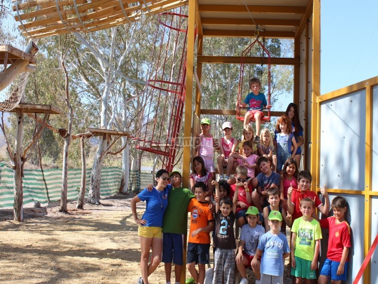Grupo de alumnos en Almeria