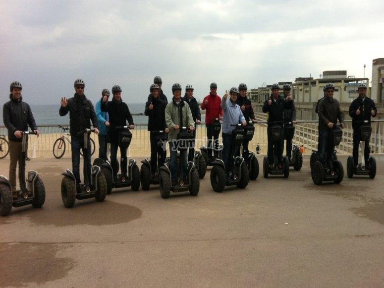 Touristic guided tour through Barcelona