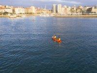 Kayaks in Gijón