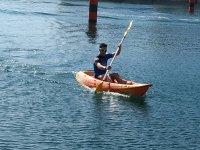 Allenamento con il kayak