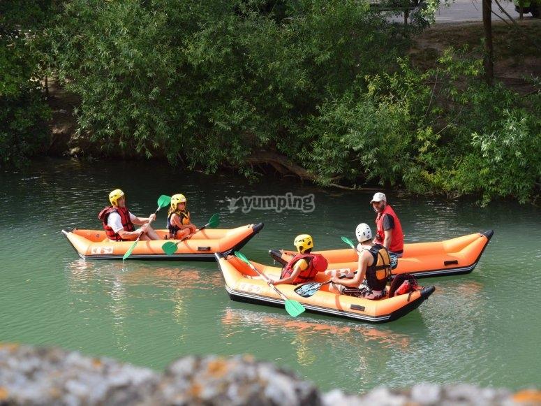 Kayaks hinchables dobles