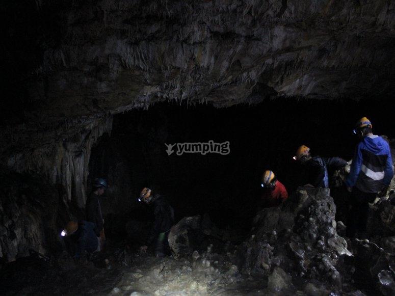 En la cueva situada en Navarra