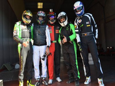 3 round di karting per adulti a Madrid
