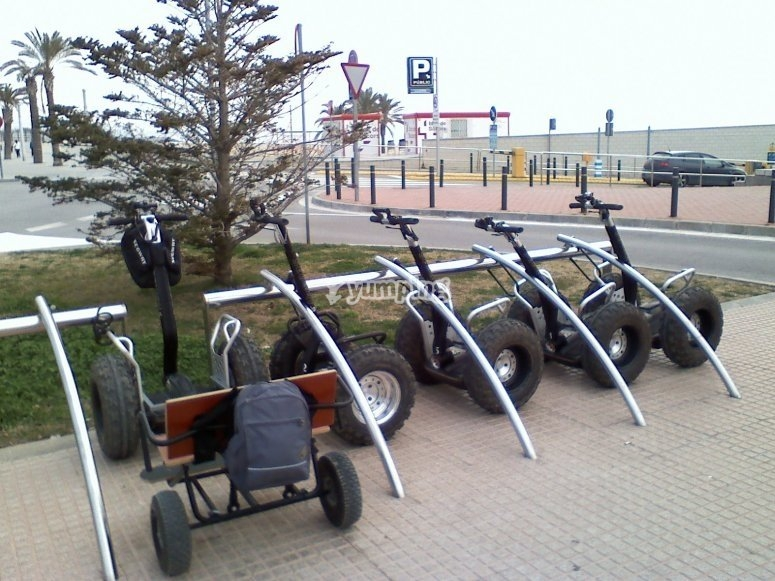 Our off-road Segway fleet