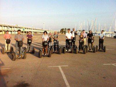 Ruta Segway paseo marítimo y centro Mataró 90 min