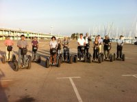 Segway route rom the port in groups