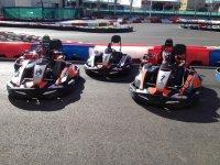 Karts para pilotar circuito de Rivas