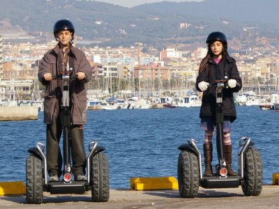 Segway tour on the Mataró coast