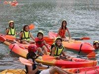 Discesa di canoe