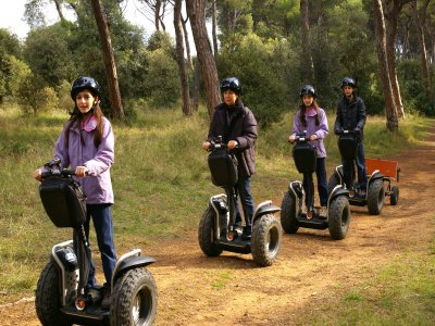 Route By a Segway through Coll de la Ventosa 90m