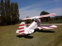 Aeronave en el aeródromo