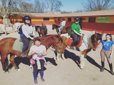 Mojadillas Caballos Clases de Equitación