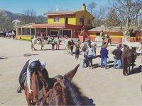 La escuela de equitación en El Escorial