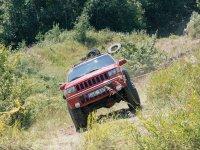 Jeep sulla strada