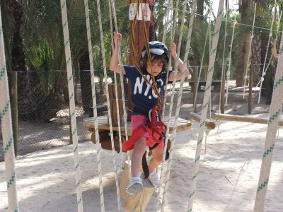 Multi-adventure circuit at Elche for 6-9 y/o kids