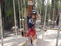 Circuito multiaventura en Elche niños 6-9 años