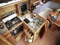 Cucina per barche a vela
