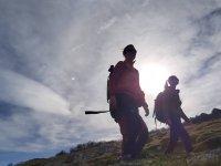 Rutas de trekking entre amigos