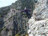 senderimso皮科斯德欧洲航线铁索攀岩爬楼梯费拉塔