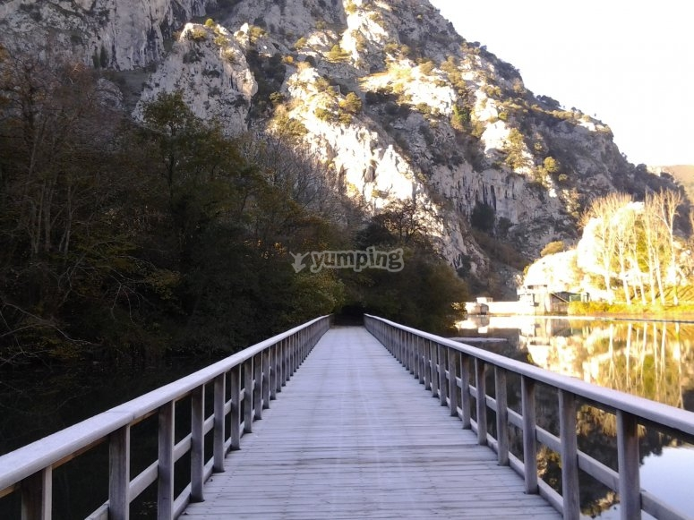 Puente del Embalse de Valdemurio