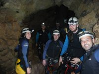 Group of participants of this caving adventure