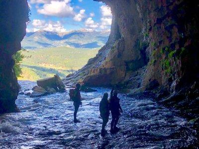 Espeleología en Cueva de los Chorros en Riopar
