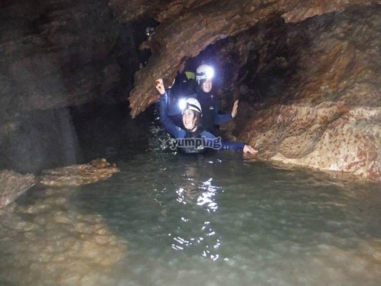 Aquatic caves